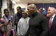 Mike-Tyson-Surprises-Yonkers-PAL-Boxers